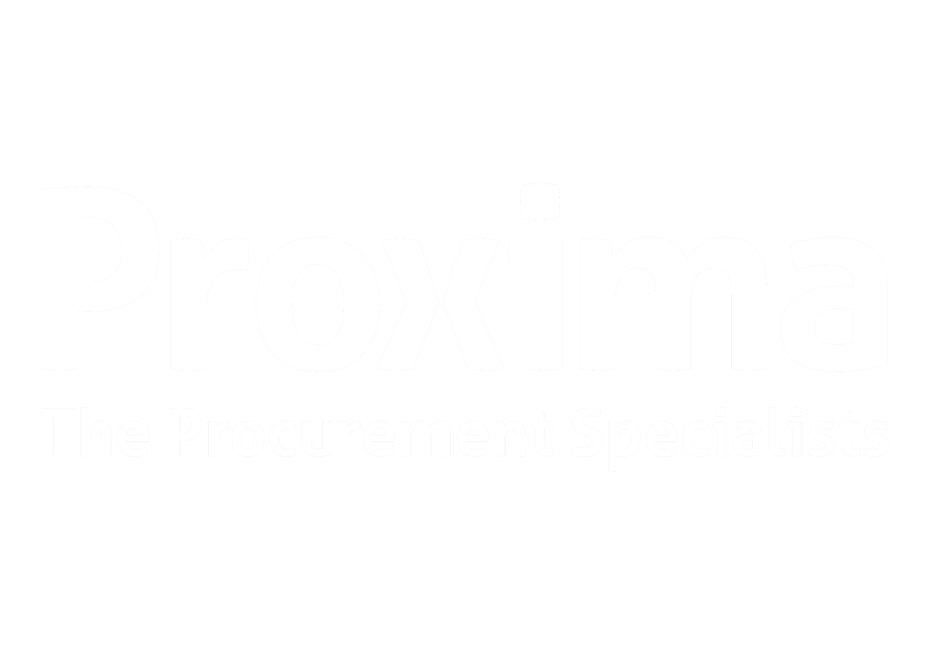 Proxima logo large March2020-White